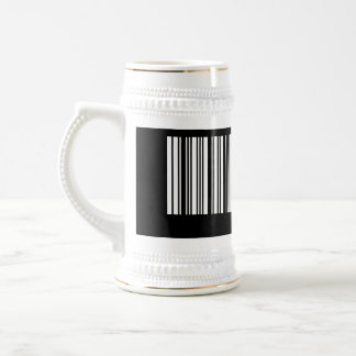 Create Your Own 9 Letters White Beer Stein