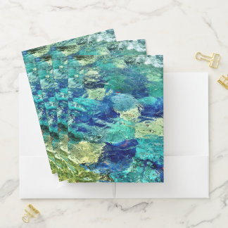 Create Your Own Abstract Art Pocket Folder