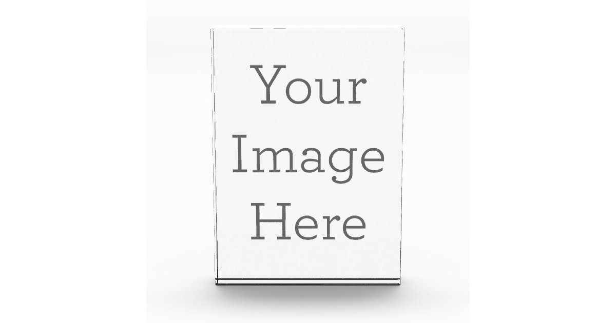 create your own acrylic award zazzle com