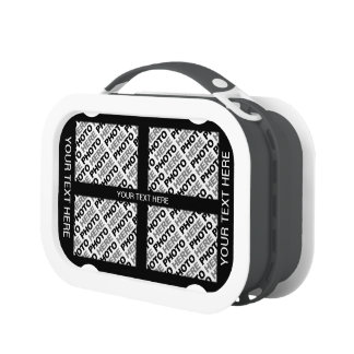 Create Your Own Add 8 Photos Lunch Box