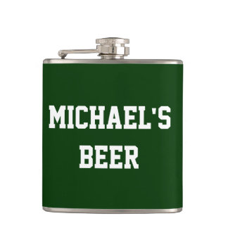 Create Your Own Add Your Name Beer Flask