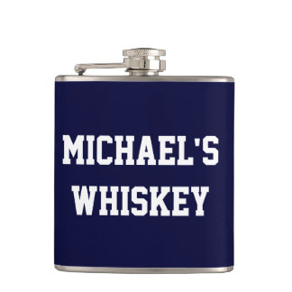 Create Your Own Add Your Name Whiskey Flask