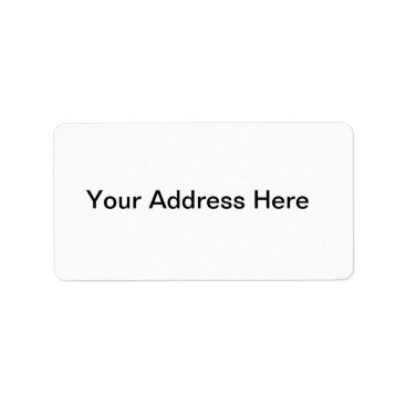 Beach Themed Create Your Own Address Label
