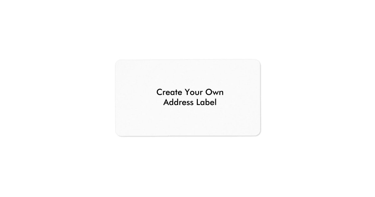 how to create your own label