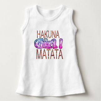 Create Your Own African Girl Colors Hakuna Matata Dress