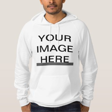 zazzle_templates Create Your Own American Apparel California Fleece Hoodie