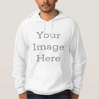 Create Your Own American Apparel California Fleece Hoodie