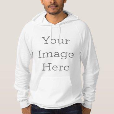 zazzle_templates Create Your Own American Apparel California Fleece Hoodie
