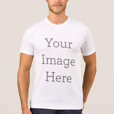 zazzle_templates Create Your Own American Apparel Poly-Cotton Blend T-Shirt