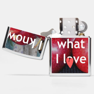 Create Your Own and Know What You Love Zippo Lighter