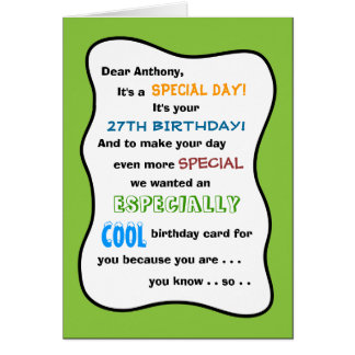 Create my own greeting cards zazzle create your own any age funny birthday card m4hsunfo