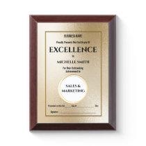 Create your own award certificate | CUSTOM
