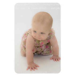 Create Your Own Baby 6x4 Photo Magnet Keepsake