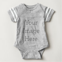 Create Your Own Baby Football Bodysuit