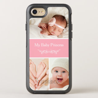 Create Your Own Baby Photo Collage OtterBox Symmetry iPhone 7 Case