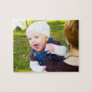 Create Your Own Baby Photo Jigsaw Puzzle Keepsake