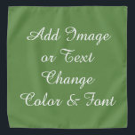 "Create Your Own Bandana<br><div class=""desc"">Easy... let me help you! This is a sample, I have many others with my art on them. Change what you don't want on bandana. For example the message I have written. Choose ""Edit Text"" or Delete with ""X"" And start fresh! Choose your font and color of bandana. Add a...</div>"