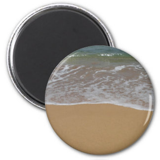 Create your own beach theme 2 inch round magnet