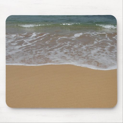 create your own beach theme mouse pad zazzle. Black Bedroom Furniture Sets. Home Design Ideas