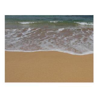 Create your own beach theme post cards
