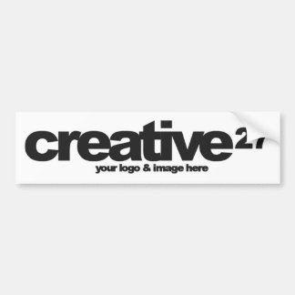 Create Your Own Bespoke product Car Bumper Sticker