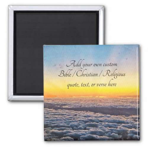 Create your own BibleChristianReligious Quote Magnet