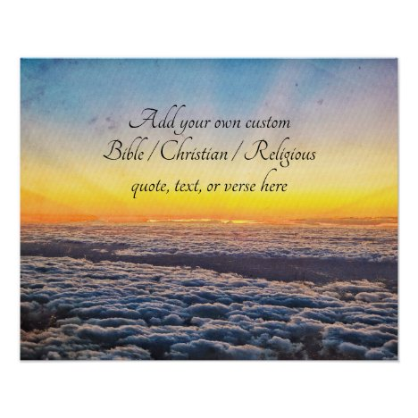 Create your own Bible/Christian/Religious Quote Poster