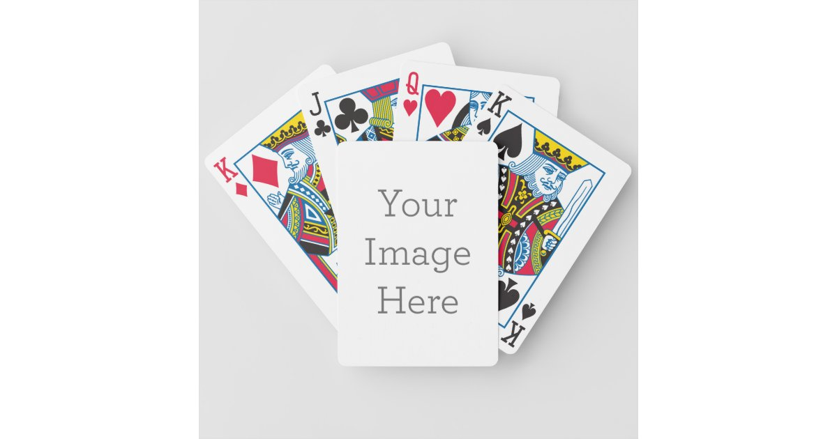 create your own bicycle playing cards | zazzle.com