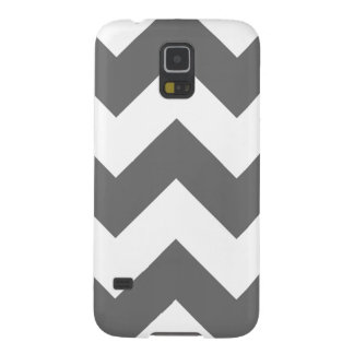 Create Your Own Big Charcoal Zigzag Pattern Galaxy S5 Case