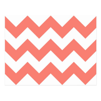Create Your Own Big Salmon Zigzag Pattern Postcard