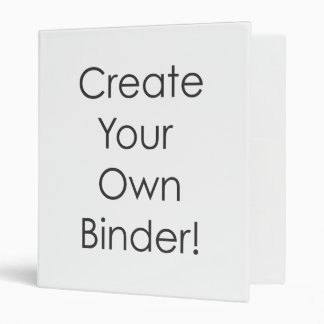 Create Your Own Binder - Easily Add Text or Photo