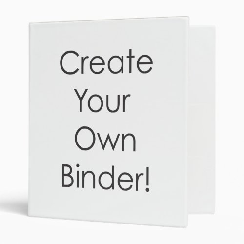 Create Your Own Binder _ Easily Add Text or Photo
