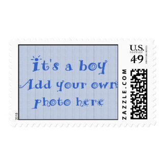 Create your Own Birth Announcement Photo Postage Stamps