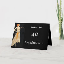 Create your Own Birthday Party Invitation Card