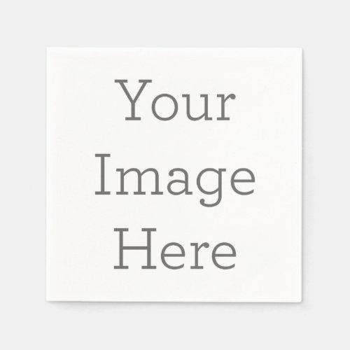 Create Your Own Birthday Photo Paper Napkin Gift