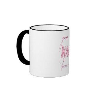 Create your own Black 11 oz Ringer Mug