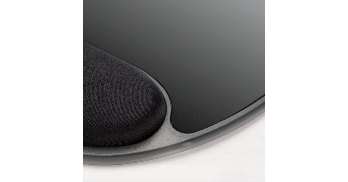 create your own black ombre gel mouse pad zazzle. Black Bedroom Furniture Sets. Home Design Ideas