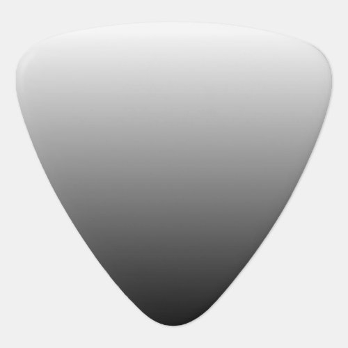 Create Your Own Black Ombre Guitar Pick