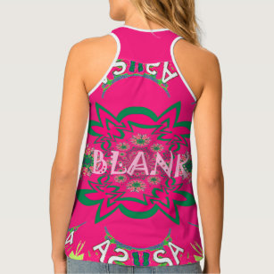 fb70521d0c1da1 Create Your Own Blank All-Over Print Racerback T Tank Top