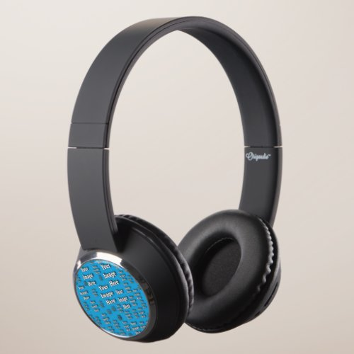 Create your Own Blank Image Template Headphones