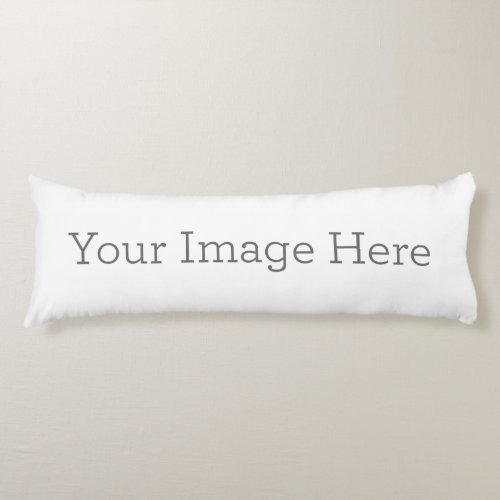 Create Your Own Body Pillow