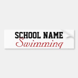 Create your own Bumper Sticker- School Sports Bumper Sticker