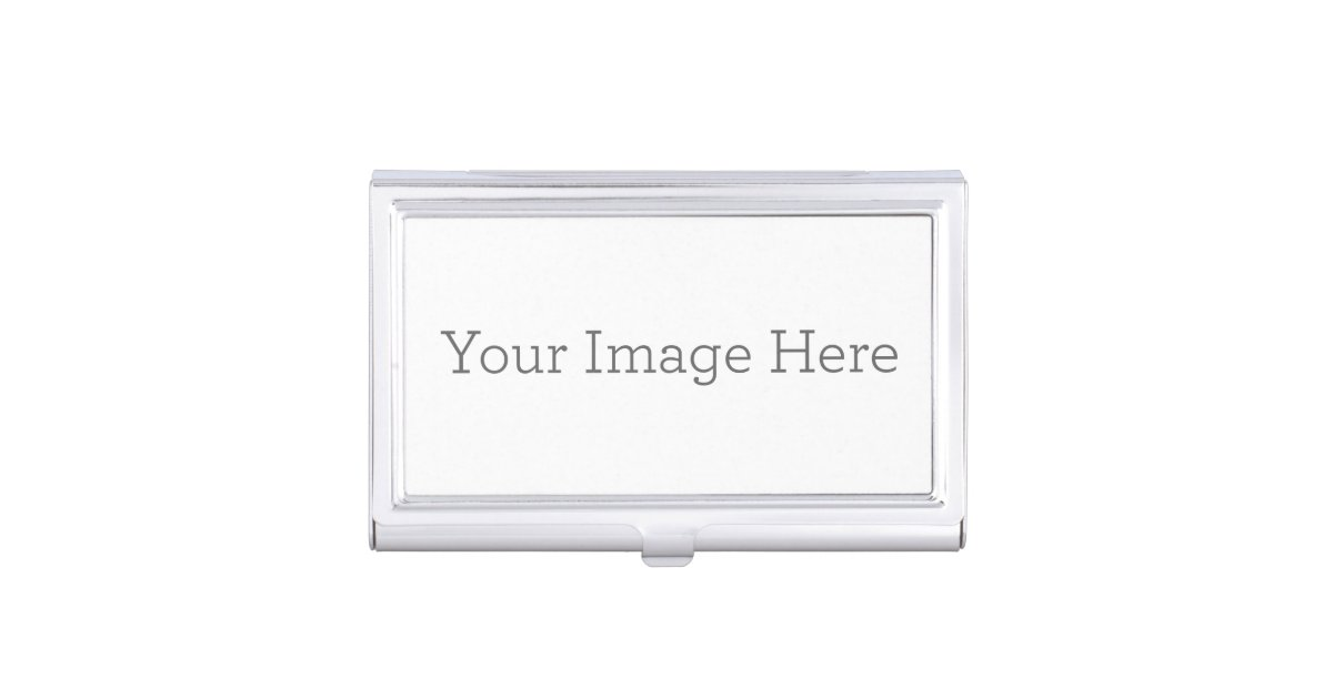 Create Your Own Business Card Holder | Zazzle.com