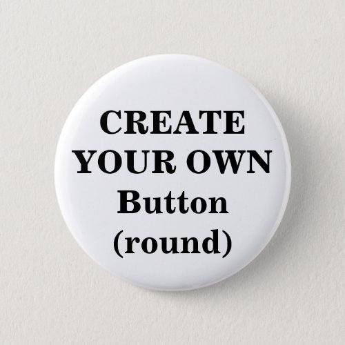 Create Your Own Button round