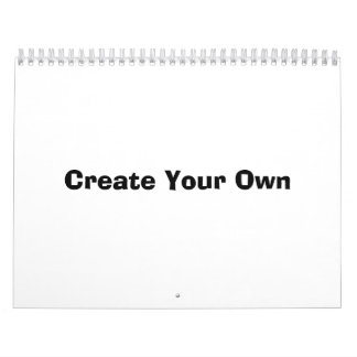Create your own calendars zazzle for Create my own planner