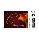 Create your own Calla Lilly postage - Letter C