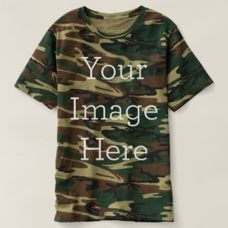 Create Your Own Camouflage T-Shirt