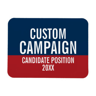 Create Your Own Campaign Gear Magnet