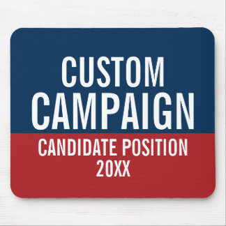 Create Your Own Campaign Gear Mouse Pad