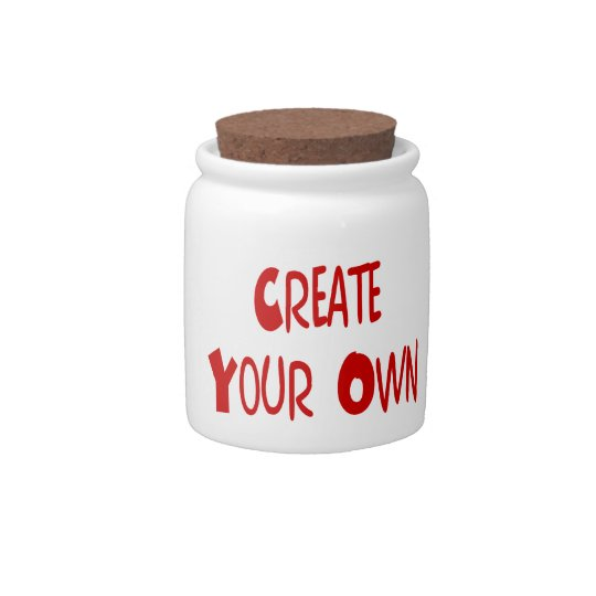 Create your own candy jars